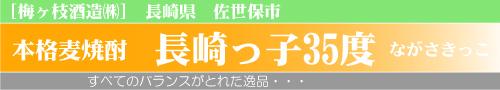 長崎っ子35度 梅が枝酒造